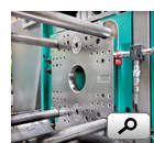 Clamping molds on injection molding machine